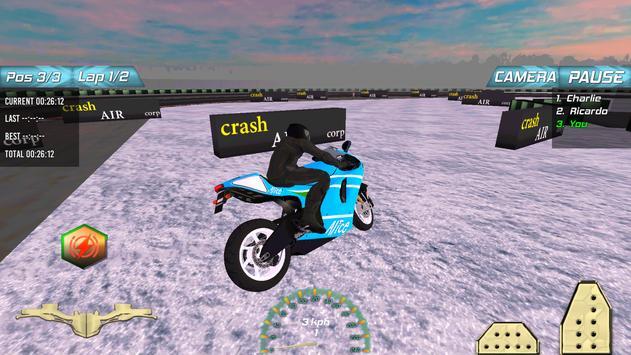 Winter Motorbike Race apk screenshot