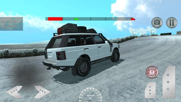 Snow Rally Champion apk screenshot