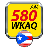WKAQ 580 am puerto rico radio station online radio icon