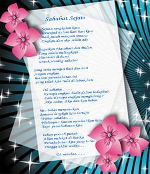Puisi Sahabat - Puisi Sahabat dan Persahabatan screenshot 2