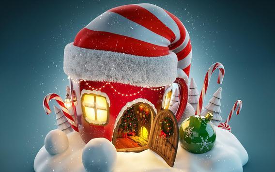 3D Christmas Wallpaper Free screenshot 2