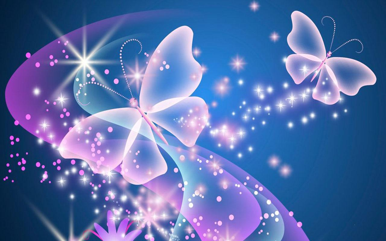 Neon Butterfly Wallpaper for Android - APK Download