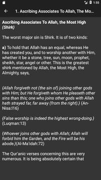 70 Major Sins in Islam screenshot 1