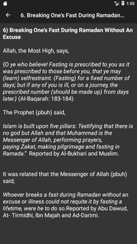 70 Major Sins in Islam screenshot 2