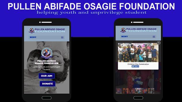 Pullen Abifade Osagie Foundation poster
