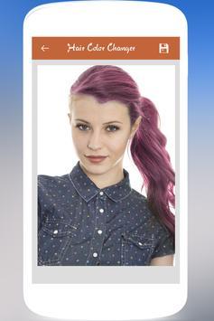 Hair Color Changer screenshot 3