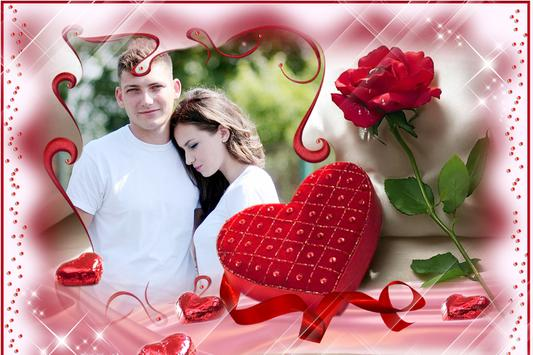 Romentic Love Photo Frame screenshot 2
