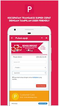 Agen Pulsa Kuota Murah : Pulsalapak.com screenshot 1