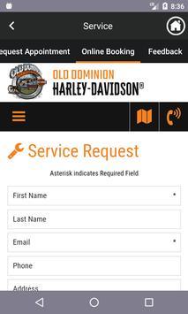 Old Dominion Harley-Davidson screenshot 4