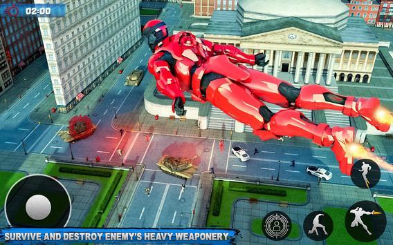 Robot Sky Rescue Simulator poster
