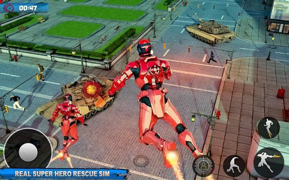 Robot Sky Rescue Simulator screenshot 12