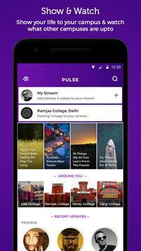 Pulse - Campus Streams apk screenshot