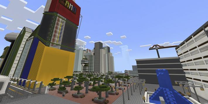 Avrin CityMap for Minecraft PE apk screenshot