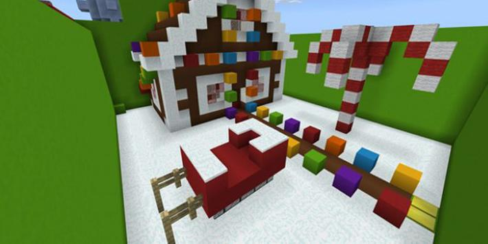 Find the Button map for Minecraft PE screenshot 1