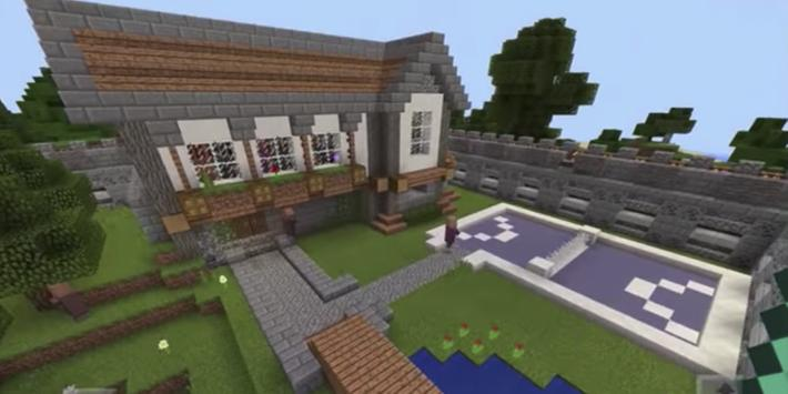 Modern House Mansion for MCPE poster