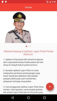 Lapor Polisi Polres Karimun poster
