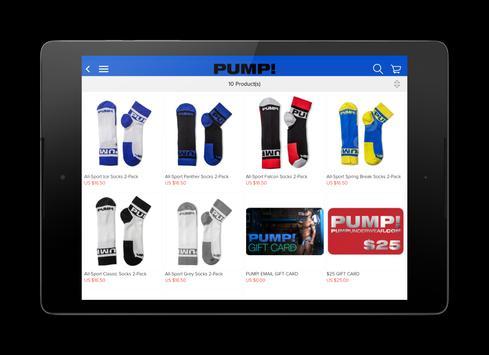 PUMP! apk screenshot
