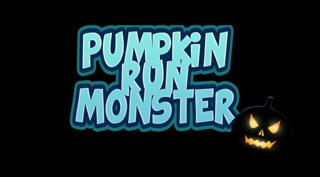 Pumpkin Run Monster poster