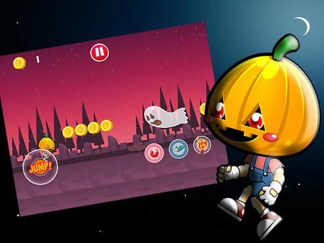 Pumpkin Run Monster apk screenshot