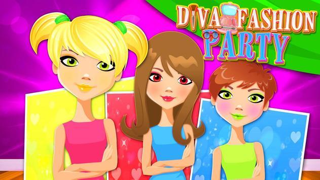 Fashion Diva Party Makeover screenshot 8