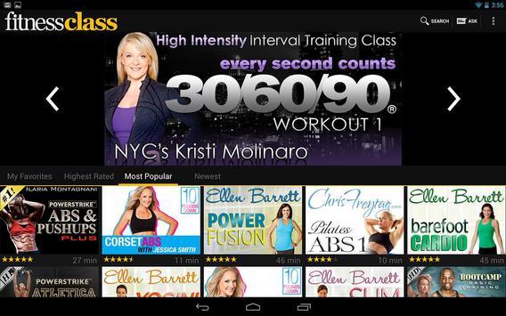 FitnessClass poster