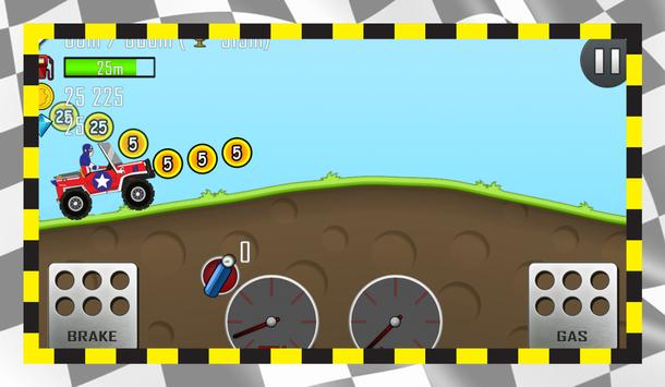 Hill Captain Racing America apk screenshot