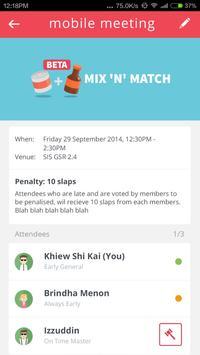 Punctual or Penalty apk screenshot