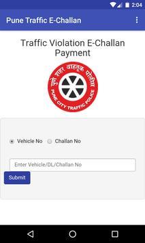 Pune Traffic E-Challan poster