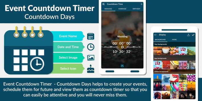 Event Countdown Timer  - Countdown Days poster