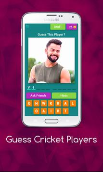 Guess Cricket Player poster