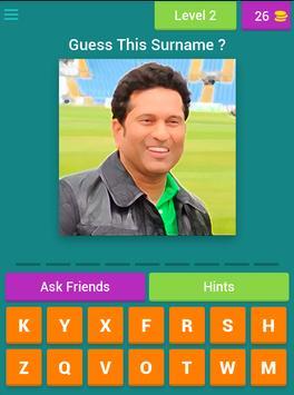 Guess Cricket Player screenshot 14