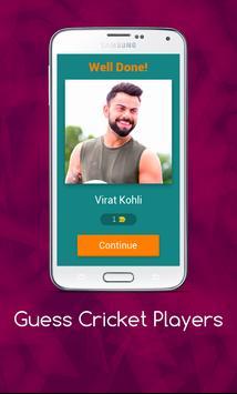 Guess Cricket Player screenshot 1
