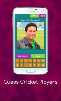 Guess Cricket Player screenshot 2