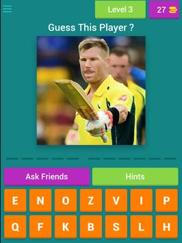 Guess Cricket Player screenshot 9