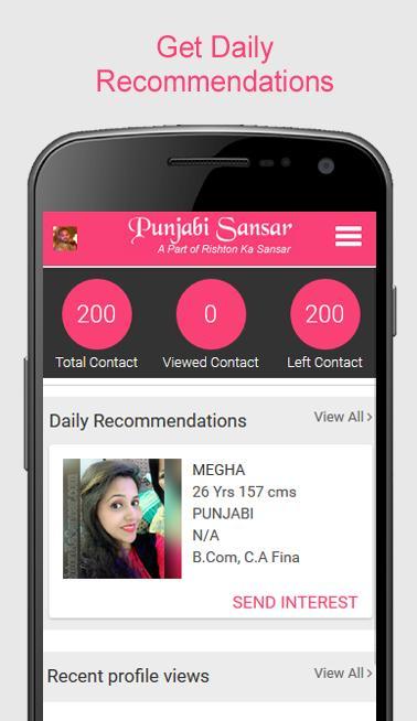 Punjabi Sansar Free Matrimonial Punjabi App for Android