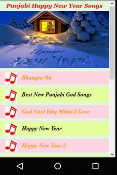Punjabi Happy New year Songs poster