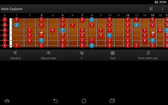 Guitar Note Trainer Demo screenshot 10