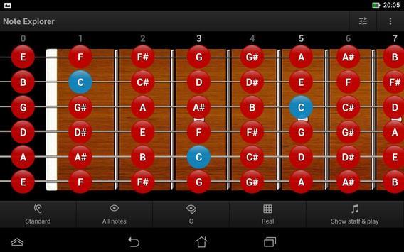 Guitar Note Trainer Demo screenshot 11