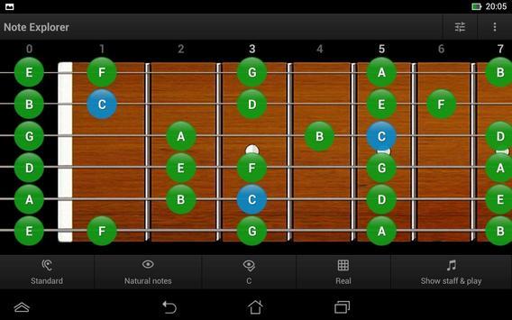Guitar Note Trainer Demo screenshot 12