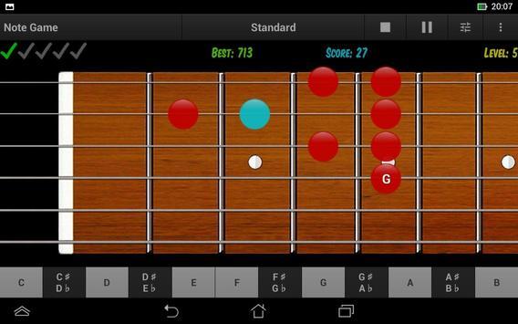 Guitar Note Trainer Demo screenshot 13