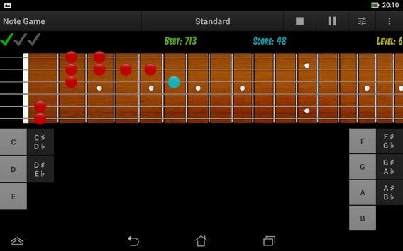 Guitar Note Trainer Demo screenshot 14