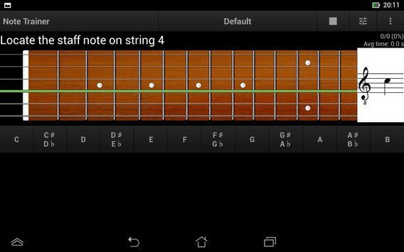 Guitar Note Trainer Demo screenshot 15