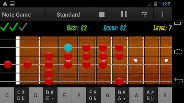 Guitar Note Trainer Demo screenshot 6