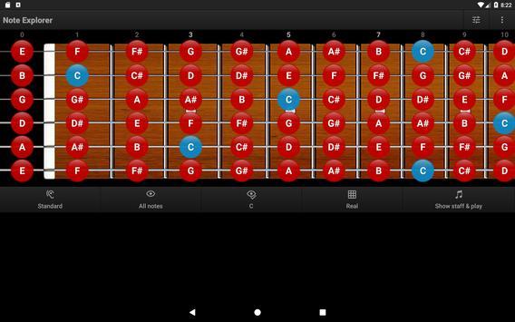 Guitar Note Trainer Demo screenshot 9