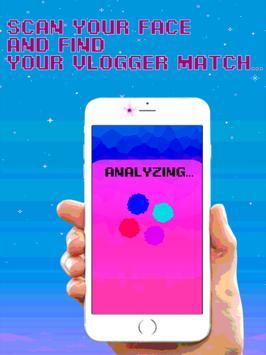 Vlogger Match Face Scan Prank apk screenshot
