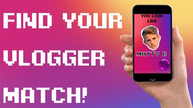 Vlogger Face Match Scan Prank screenshot 2
