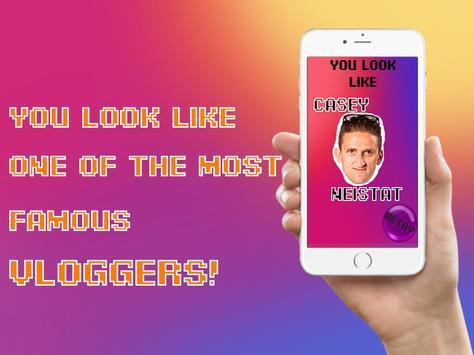Vlogger Face Match Scan Prank screenshot 6