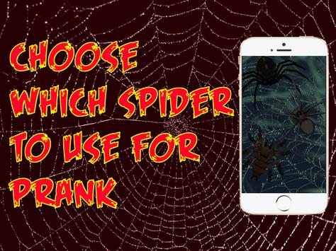 Spider 3D AR Prank Halloween screenshot 3