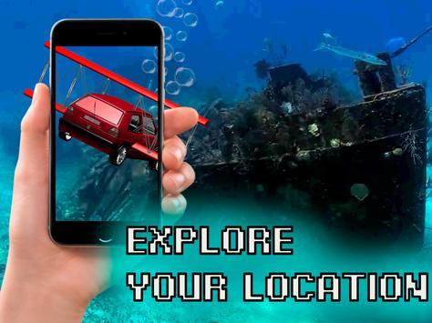 Submarine Car 3D AR Simulator screenshot 4