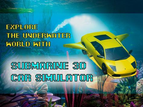 Submarine Car 3D AR Simulator screenshot 5